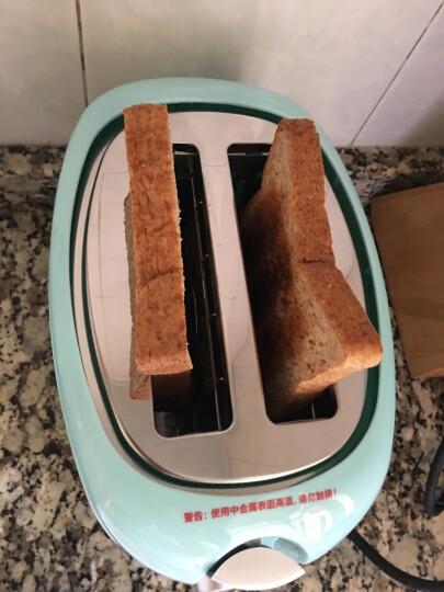 北欧欧慕(nathome)NDS3019 多士炉烤面包机2片 早餐机吐司机 烤面包机家用全自动 晒单图