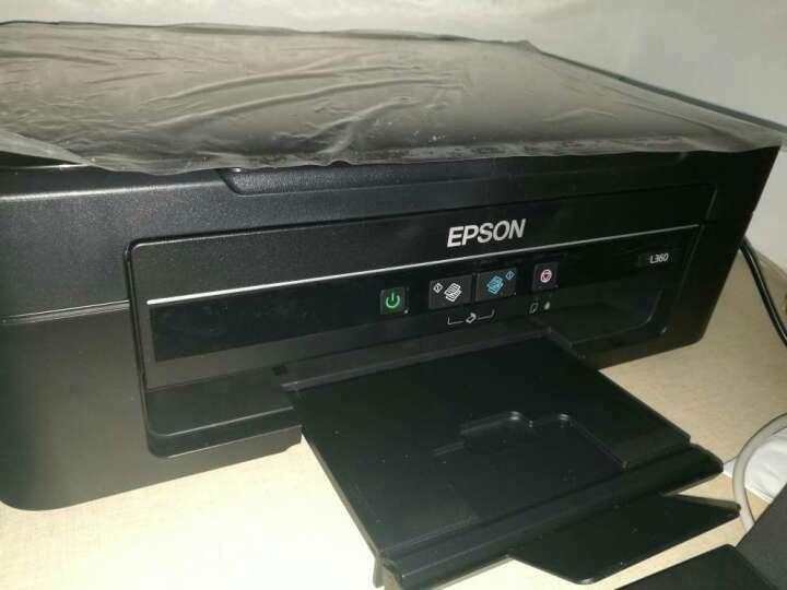 爱普生(EPSON)L383墨仓式打印机 家用彩色喷墨一体机 学生打印 作业打印(打印 复印 扫描) 晒单图