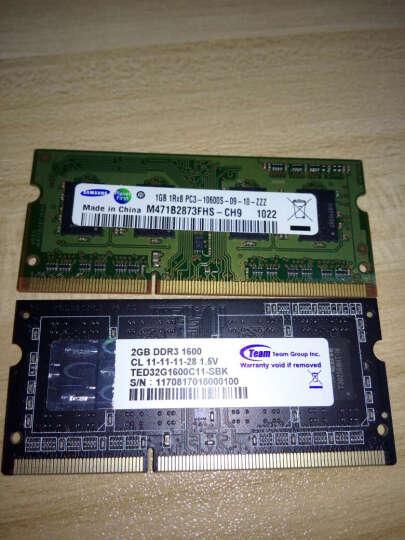 十铨(Team) DDR3 1600 2G 笔记本内存 晒单图