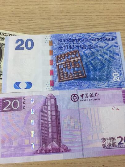 2008年8月8日奥运日纪念钞 澳门回归十周年纪念钞 10元20元35连体纪念钞同号对钞 ZA-100 晒单图