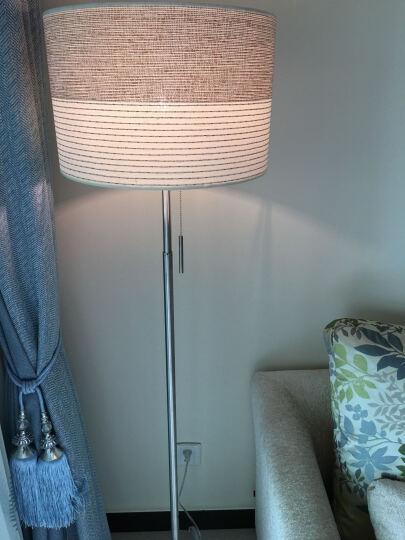 凡丁堡落地灯客厅简约现代铁艺卧室床头台灯立式书房MWDS315FL 配9W 无线调光灯泡+摇控 拉线开关 晒单图