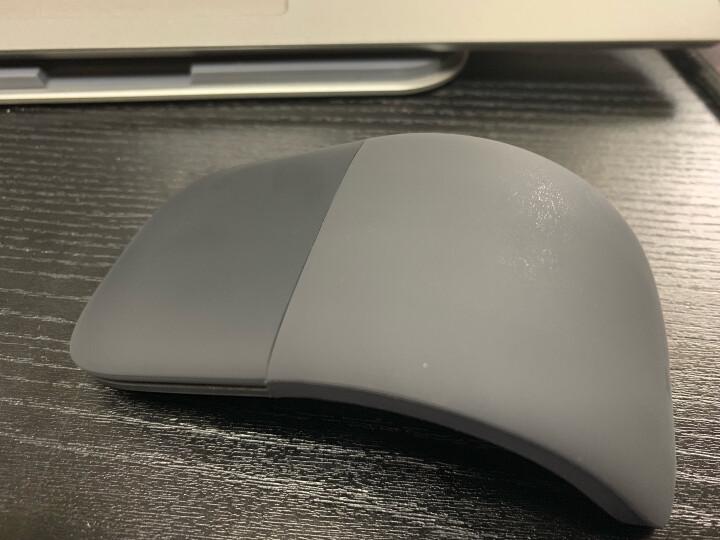 微软(Microsoft)Surface Arc Touch蓝牙鼠标 无线鼠标 折叠便携办公 Surface Arc石墨黑 晒单图