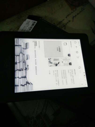 Kindle Paperwhite3 6英寸 非反光 墨水触控显示屏 wifi网络 电纸书 (黑色书+欢乐树套) 套餐1- 赠送 (5件套) 晒单图