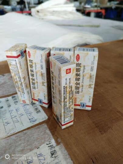 白云山 何济公 盐酸金霉素眼膏 2.5g*1支/盒 5盒 晒单图