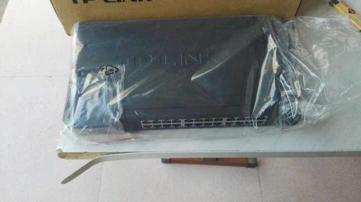 普联(TP-LINK) 交换机网络分线器 集线器 分流器 即插即用 24口百兆 TL-SF1024D 晒单图
