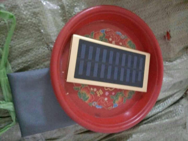 50000M太阳能充电宝手机通用苹果vivo华为荣耀三星OPPO小米快充20000毫安超薄 深蓝色-太阳能+充电器 晒单图