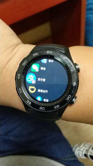 HUAWEI WATCH 2 华为第二代智能运动手表蓝牙版 蓝牙通话 GPS心率FIRSTBEAT运动指导 NFC支付 碳晶黑 晒单图