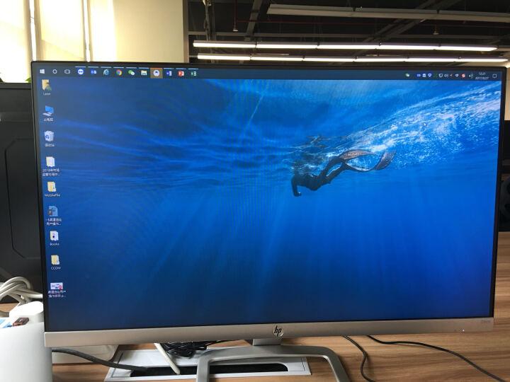 惠普(HP)24ES 23.8英寸 纤薄窄边框 IPS屏 广视角金属底座液晶显示器(银色) 晒单图
