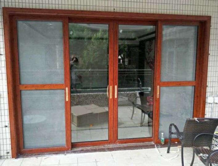 凤铝(FENGLU) 上海维盾坚美凤铝断桥铝合金门窗封阳台平开窗移门隔音玻璃门窗阳光房定制 尾款专拍 晒单图