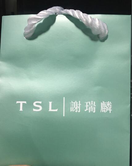 TSL谢瑞麟 18K玫瑰金项链 女款 心跳K黄金锁骨链 42+3CM套链 AE114 定价类 42+3cm 晒单图