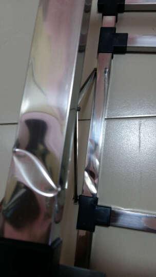 吉赛帝JSD不锈钢一体成型45x39水槽加厚不锈钢落地支架套餐 免开孔安装 不锈水斗套装 SUS304冷热水龙头加沥水篮套餐 晒单图