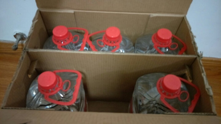 农夫山泉 饮用天然弱碱性水 4l*6桶 整箱矿泉水 晒单图