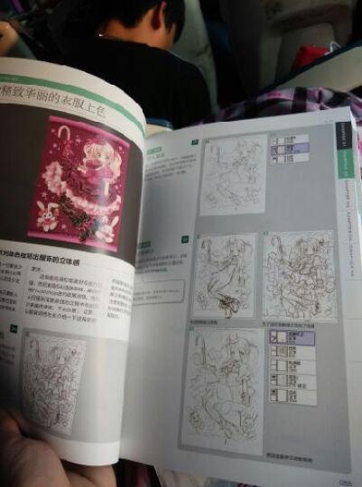 漫画+:超级绘师CG漫画绘制全攻略(附DVD光盘1张) 晒单图