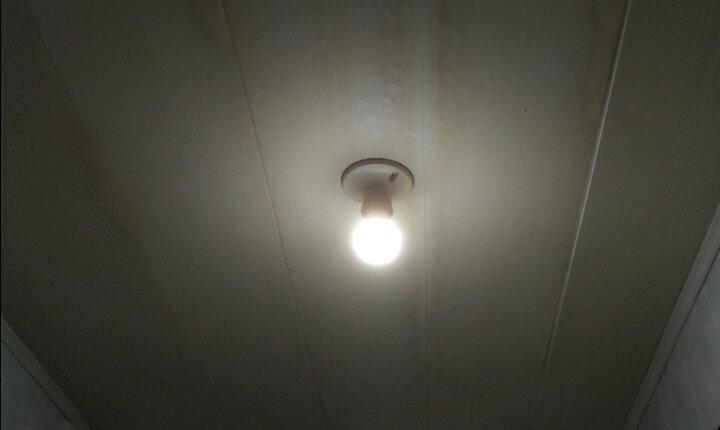 欧普照明OPPLE  led灯泡球泡高亮 持久 球泡 灯泡照明节能灯 3瓦【E27大灯头】 白光 晒单图