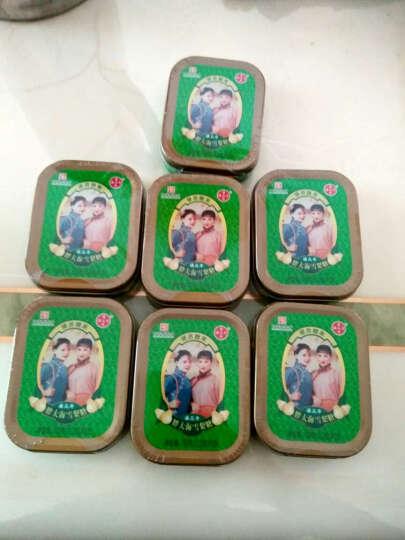 潘高寿 胖大海雪梨糖  水果糖 硬糖铁盒装(五盒装)33g*5 十盒装 晒单图