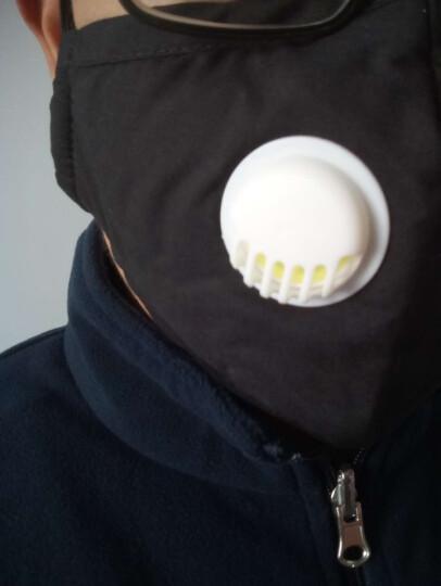 康慕  过滤式pm2 5防雾霾尘防甲醛pm2.5口罩 带呼吸阀活性炭男女成人 红白格子 晒单图