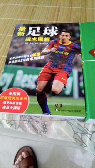 倒转金字塔:足球战术史+德国足球训练全书(全新修订第6版)+足球智商套装3册 晒单图