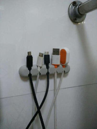 奥睿科(ORICO) 绕线器数据线缠线器电脑桌面理线器电线固线器耳机线收线夹 CBS5-5口灰色 晒单图