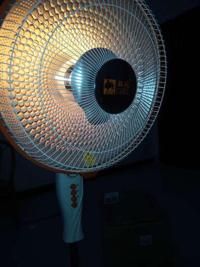 骆驼(CAMEL) 落地遥控小太阳取暖器家用电暖器节能电暖气静音暖风机升降电热扇 落地取暖器(遥控款) 晒单图