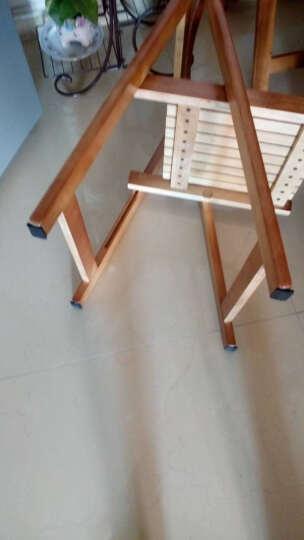 EVA橡胶强粘力不干胶桌椅垫垫脚桌椅脚垫家具垫脚垫脚垫保护垫黑色5mm厚规格齐全 直径4cm圆形(4片装) 晒单图