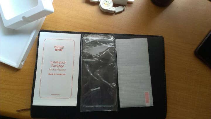 图拉斯 苹果8/7手机壳iPhone7 Plus保护壳全包防摔磨砂硬外壳手机套女薄男透明 4.7英寸-全透明 晒单图