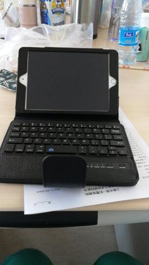黑啾  新款ipad air2保护套无线蓝牙键盘mini2/3/4/pro9.7/12.9平板保护壳 一一pro粉色12.9英寸一一 晒单图