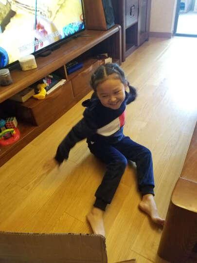 2019童装女童套装春秋季新品两件套儿童韩版休闲运动中大童卫衣潮 宝蓝色 160码(适合146-155cm) 晒单图