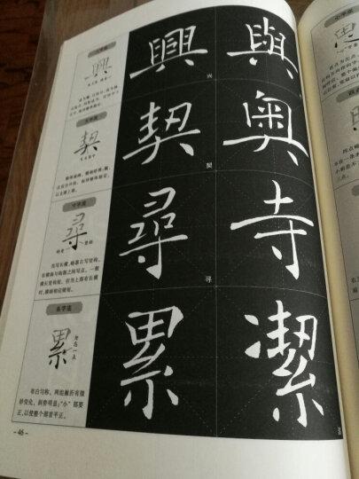 华夏万卷 褚遂良楷书入门基础教程:雁塔圣教序 晒单图