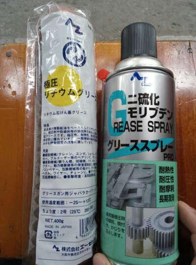 AZsmooth 二硫化钼润滑脂 机械用黄油 防卡咬润滑脂 抗磨 日本原装进口 50g  795 晒单图