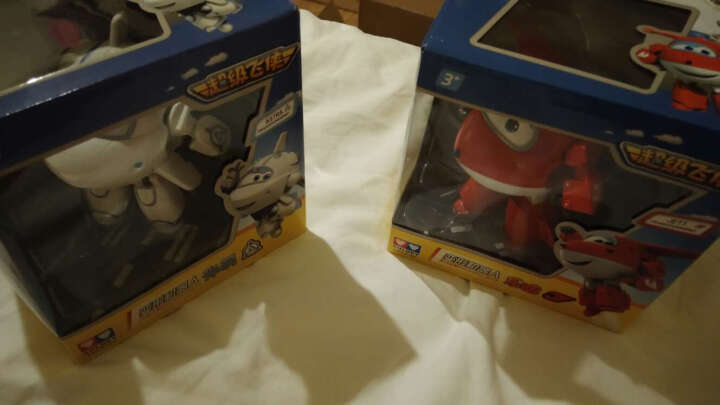 奥迪双钻(AULDEY)超级飞侠益智大变形机器人-乐迪 710210 儿童玩具 年货礼盒 男孩女孩玩具新年礼物 晒单图