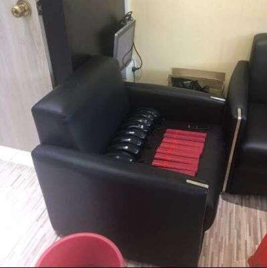 弗纳斯特(FUNASITE) 办公沙发现代简约会客沙发三人位办公室沙发茶几组合接待沙发 3+1+1/优质西皮 晒单图