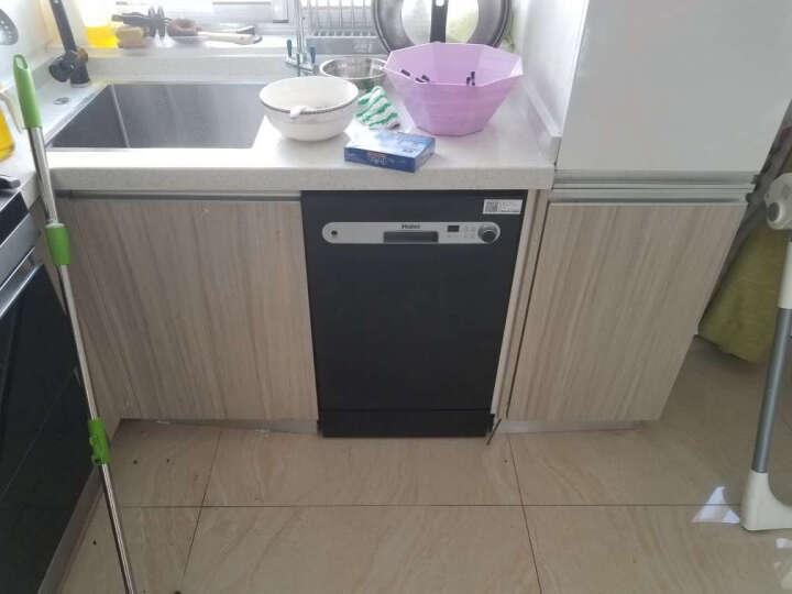 海尔(Haier)8套大容量 80℃高温除菌消毒 自动烘干 嵌入式 洗碗机家用 HW8-1718 晒单图