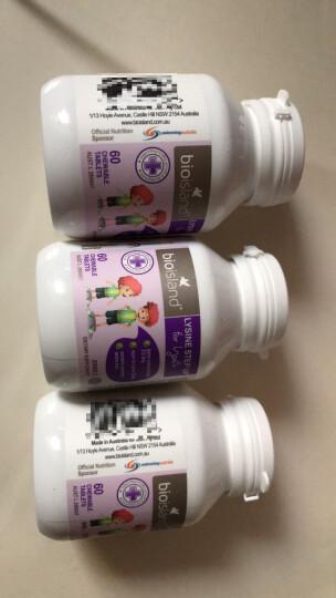 bioisland 乳钙澳洲进口婴幼儿宝宝儿童补钙/鱼油/补充DHA/补锌片 6-24岁儿童青少年黄金助长素2段60粒*1瓶增高 晒单图