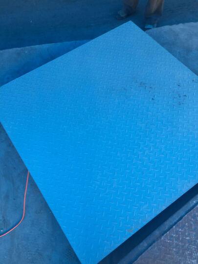 浩展 上海耀华电子地磅秤1-3吨 小型电子地磅称重平台秤小秤 磅秤称猪带围栏防抖防潮 1.2*1.5面板5MM0-3吨 晒单图