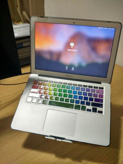 仕比多MacBook笔记本桌面金属支架铝合金增高底座散热器 适用苹果联想Thinkpad 笔记本支架散热款【气质银】 晒单图