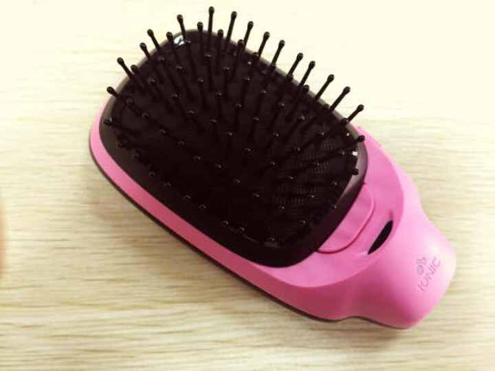 飞利浦(PHILIPS) 负离子造型梳 秋冬呵护头发 防静电 红黑个性潮流新色HP4589/05 晒单图