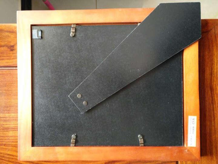 约美实木相框摆台欧式简约创意儿童照片像框7寸6 5 8 10 12寸A4照片框定做打印照片证书礼品 白色 6寸(10.2x15.3cm) 晒单图