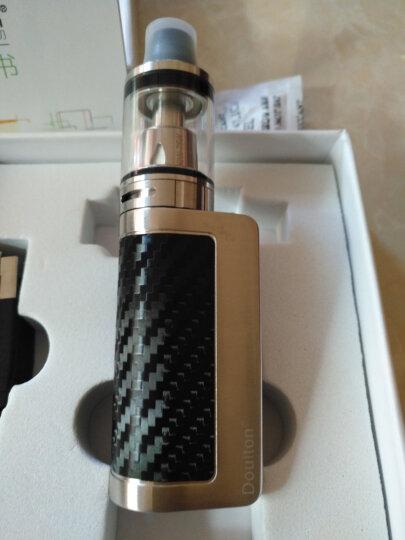 云端N3电子烟大烟雾50w/75w套装 戒烟器蒸汽香烟配烟油 黑色 n3恒压版 晒单图