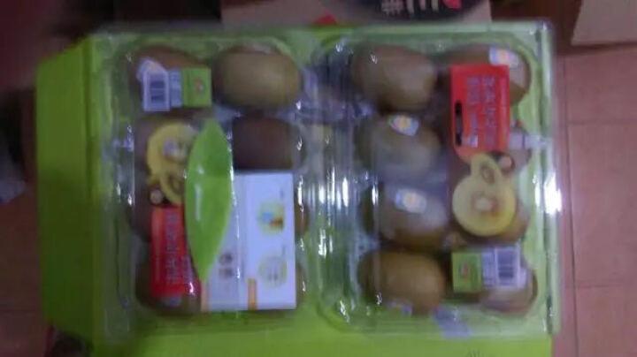 Zespri佳沛 新西兰奇异果 尊享礼盒(特大22金果6个+特大22绿果6个) 单果重约140g-170g 晒单图