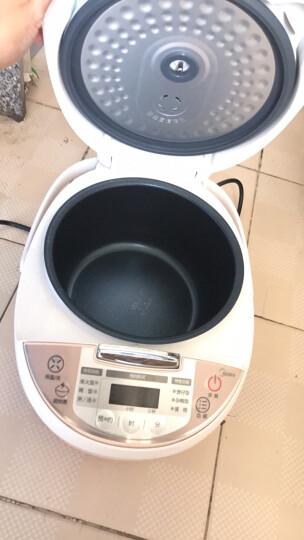 美的(Midea) 电饭煲 3L 全智能迷你电饭锅 MB-WFS3018Q 粉色 晒单图