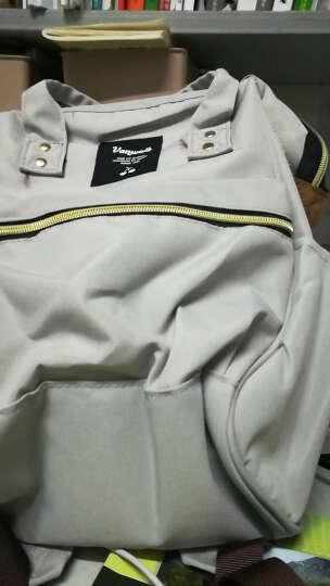 vanwalk 时尚妈咪包双肩背包女新款韩版学院风简约中学生书包女包手提包背包潮v1137 银色小版 晒单图