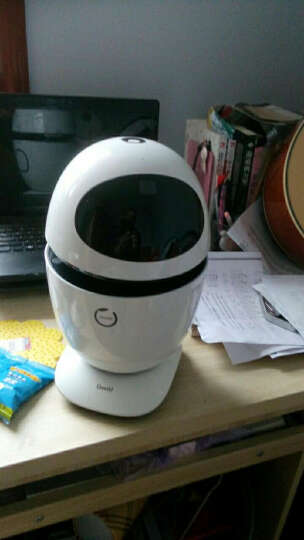 狗尾草公子小白8核版智能机器人智能机器人玩具儿童早教学习机语音对话教育情感机器人 牛奶白 晒单图
