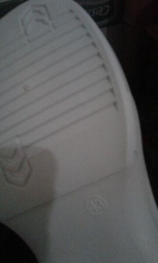 MOZOEYU男鞋秋冬季休闲鞋新款高帮鞋加绒保棉鞋男士高帮板鞋休闲皮鞋潮流运动鞋子 男 G70-亮黑 39 晒单图