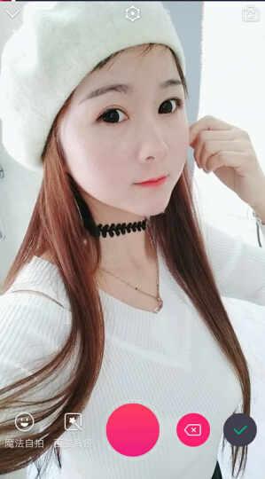 艾依美 毛呢冬季帽子女款秋冬贝雷帽 冬天款韩版潮时尚画家帽韩国女帽 乳白色 均码 晒单图