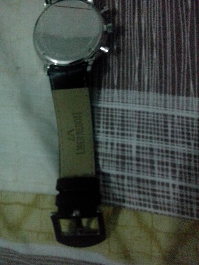 励柏艾顿(LA)手表石英男女表 自由系列大马士革经典钢带夜光手表情侣手表一对学生韩版时尚 LA7201-9239L 晒单图