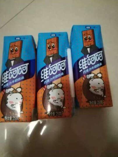 圣牧涵一 维呵呵巧克力牛奶饮品  250ml*12盒 晒单图