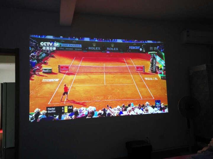 极米 (XGIMI) Z4X 智能 家用 投影机 & 极米 120英寸16:10遥控幕布 晒单图