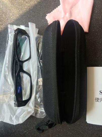 【新品推荐】隐藏隐形智能眼镜摄像头 执法取证暗访 运动骑行记录摄像机录像 行车记录 非针孔 升级版 黑色 32G 晒单图