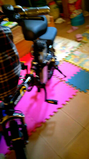 【新国标3C认证】英格威电动车成人电动自行车代驾折叠电动车14寸锂电池电动滑板车电瓶车GPS汽车锂电 GPS-32650汽车电池助力110-140公里 晒单图