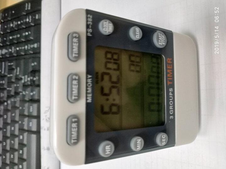 追日牌 PS-382 三通道定时器 时钟 正倒数计时器 提醒器 秒表 晒单图